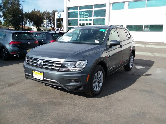 New 2019 Volkswagen Tiguan S With 4motion Sport Utility In Long