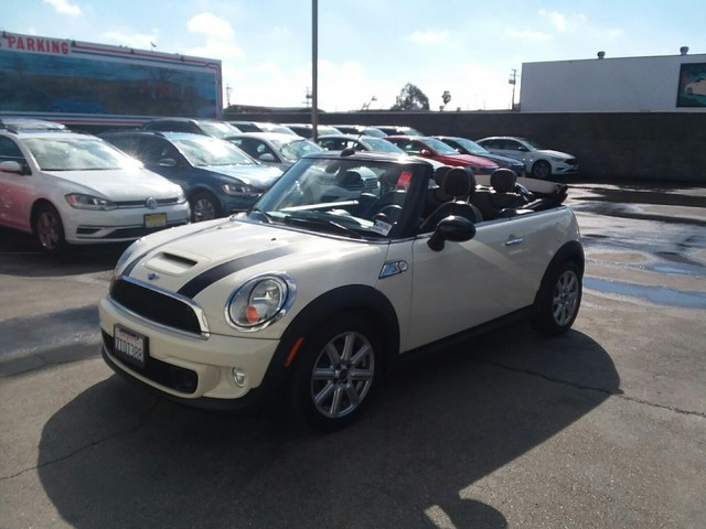 Pre Owned 2015 Mini Cooper Convertible S Convertible In Long Beach