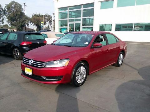 Certified Pre-Owned 2015 Volkswagen Passat 1.8T S Front Wheel Drive Sedan