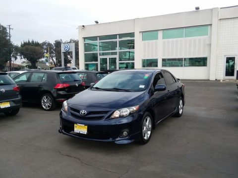 Pre-Owned 2011 Toyota Corolla S Front Wheel Drive Sedan