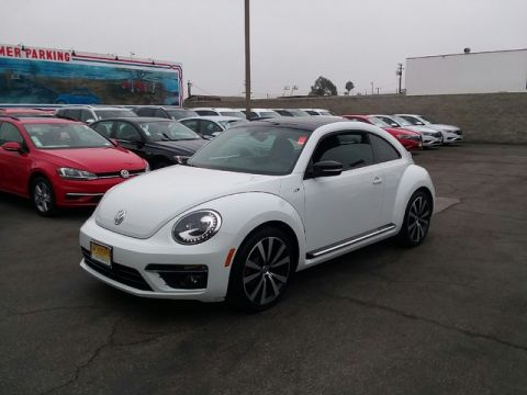 Pre-Owned 2016 Volkswagen Beetle Coupe 2.0T R-Line SEL