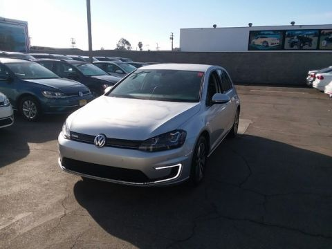 Certified Pre-Owned 2015 Volkswagen e-Golf SEL Premium